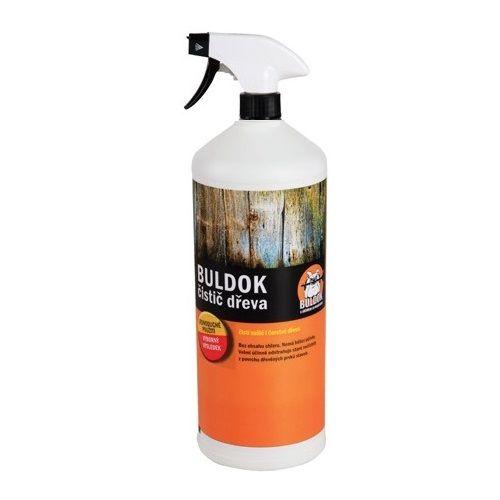 BULDOK Čistič dřeva - Čistič na dřevo a dřevěné stavby. Čistí zašlé i čerstvé dřevo. Velmi účinně odstraňuje staré nečistoty z povrchu dřevěných prvků.     Výrazně usnadní čištění dřeva - špínu a nečistoty na sebe naváže a po spláchnutí odteče společně s vodou.