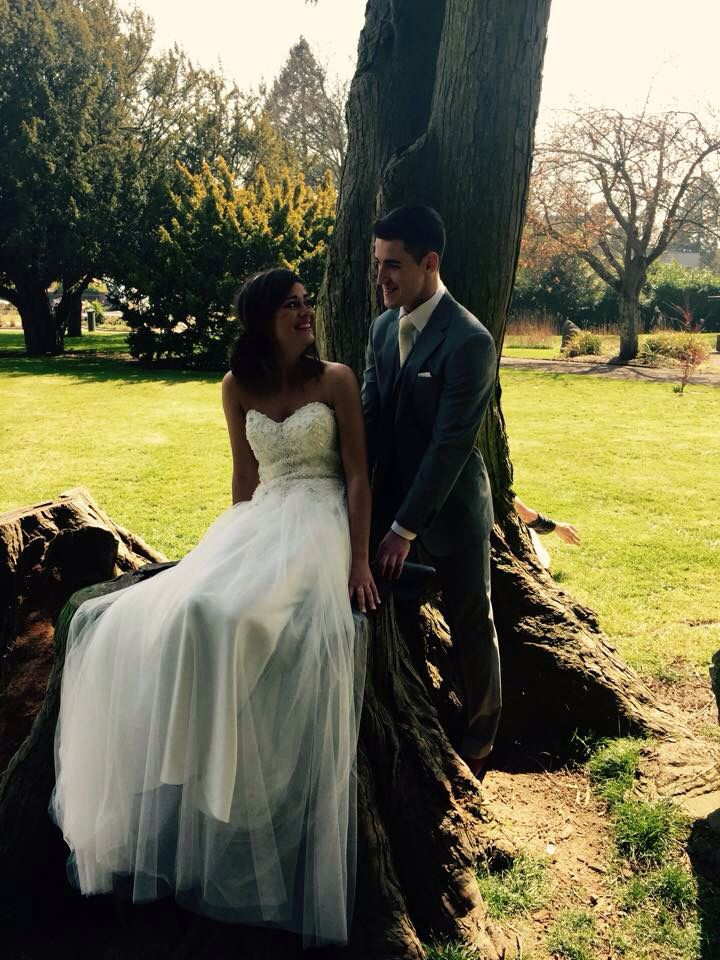 Photo shoot in Fitzgeralds Park with Mr Cork Nathan Adams & Niamh Dorgan with Simply Suits