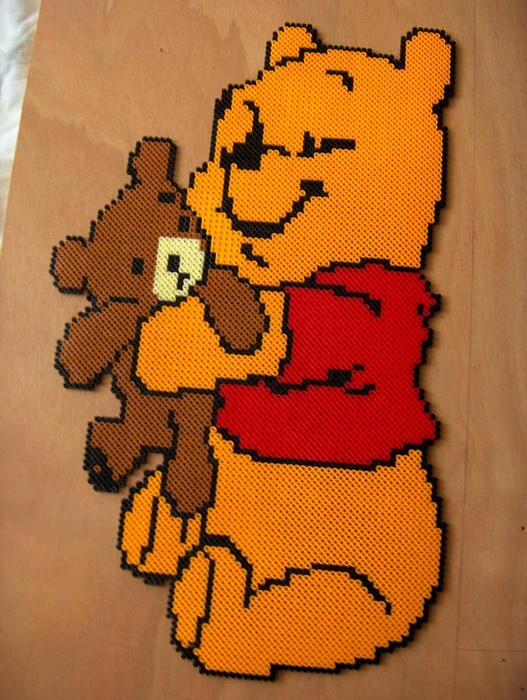 Winnie the Pooh hama perler bead by Irma