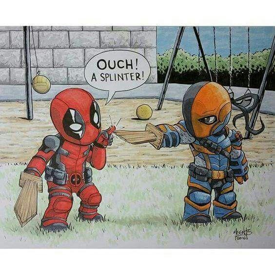 Deadpool and death stroke