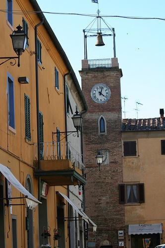 in Lajatico, Italy, province of Pisa , Tuscany