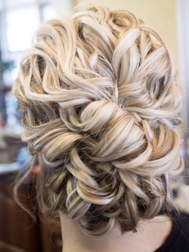 25+ Best Ideas About Thick Hair Updo On Pinterest