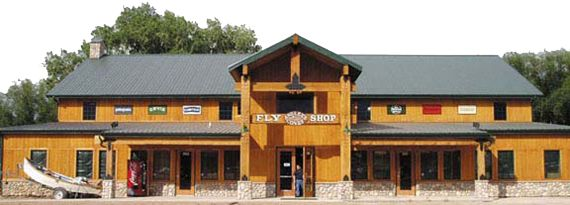 Our Store: Our store is over 6,500 square feet and full of all the latest fly fishing gear to make any anglers stop and shop. We also have two casting ponds always ready for you to test cast the newest rods in the industry. Our tying center is one of the largest in the Rocky Mountain region.  Our book and information center has all the latest titles and information to take your adventure to any where in the world.