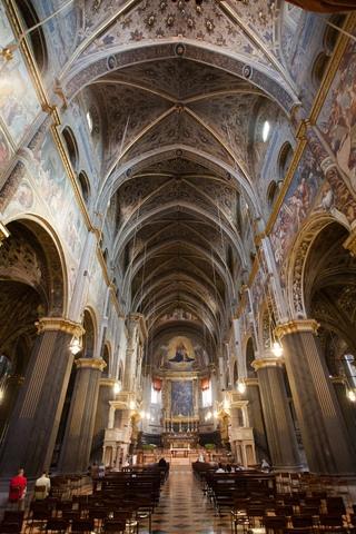 Interno del Duomo - Cremona, Italia