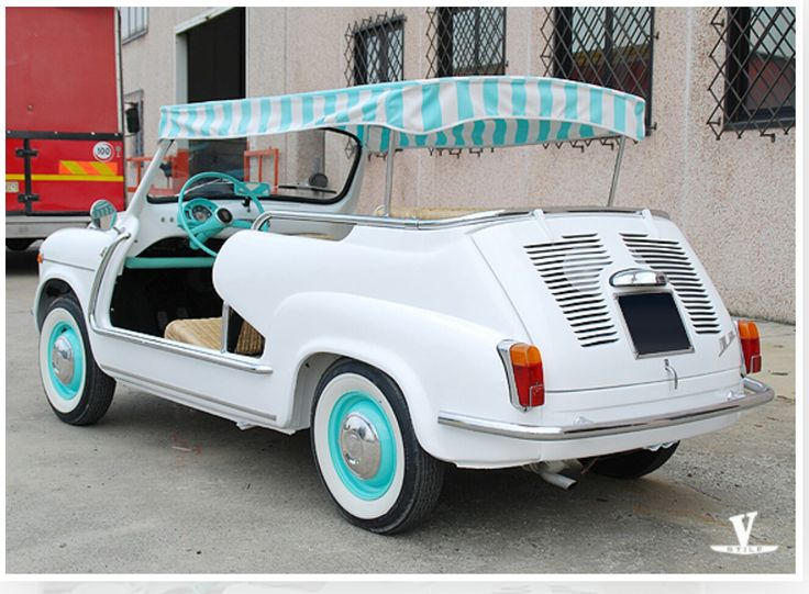 FIAT 600 JOLLY -construction esclusive for you !! The best Made in Italy-