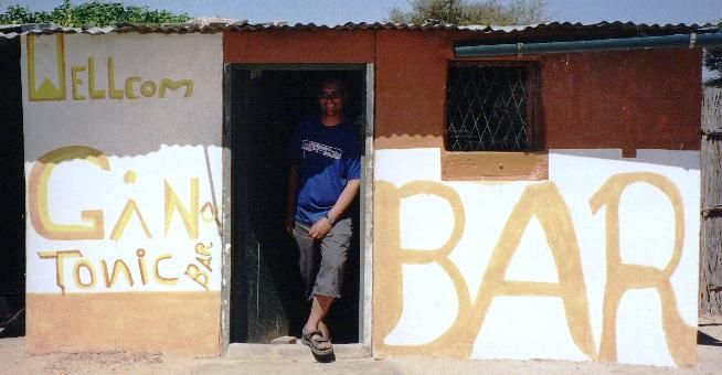 Pub Of The Year Gin & Tonic Bar Rundu Namibia. Best Good Beer Guide!