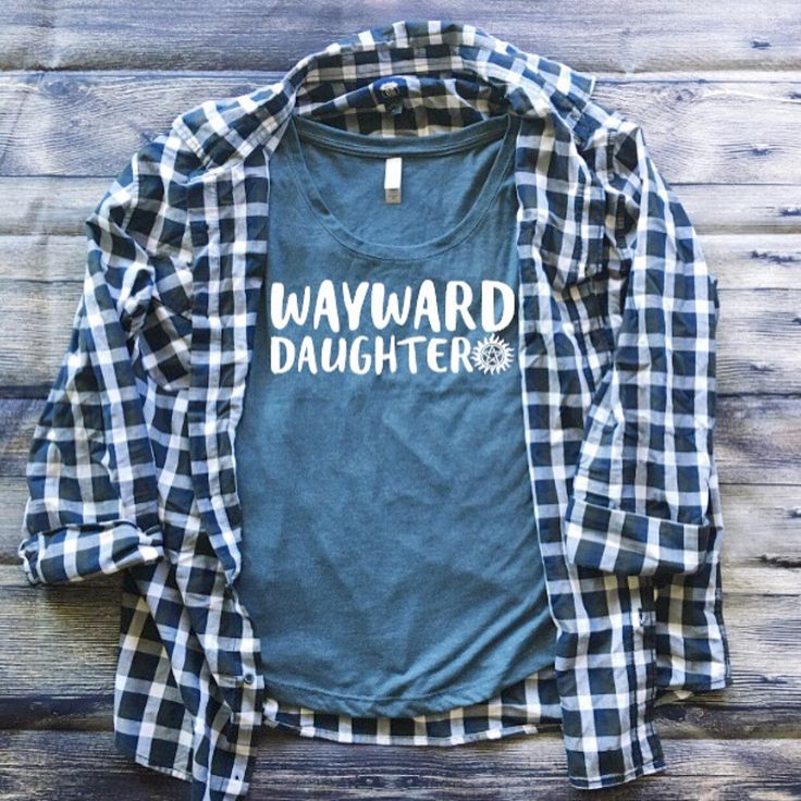 SALE   Wayward Daughter Shirt   Supernatural Shirt   Anti Possession Tattoo Shirt   Southern Sweetheart Gifts by SthrnSweetheartGifts on Etsy https://www.etsy.com/listing/483142762/sale-wayward-daughter-shirt-supernatural
