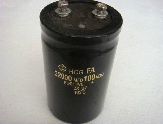 100V 22000uf Electrolytic Capacitor 50X105mm