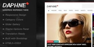 If you want to design blogs, magazine and news website then Daphne would be the best option for you. It provides features like responsive layout, social buttons, multi-level drop-down menu and SEO friendly.. Check it now : http://www.nulledlistings.com/?p=1907