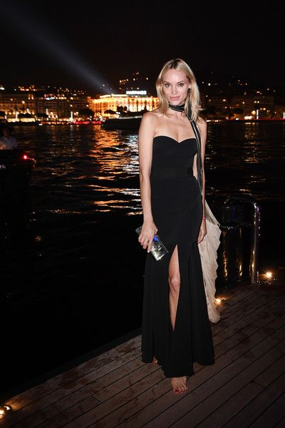 Inna Zobova attends the Generous People 5th Anniversary Party during the 70th annual Cannes Film Festival at Martinez Pier on May 24, 2017 in Cannes, France.
