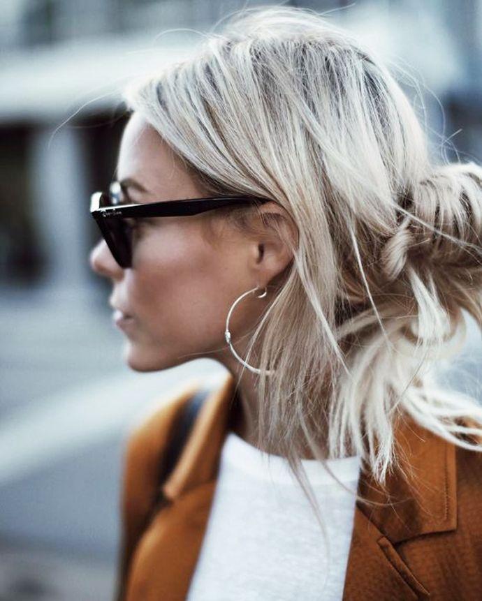 De mooiste kapsels met (zilver)blond haar