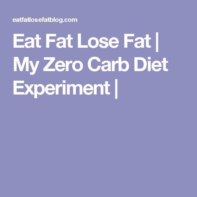 Eat Fat Lose Fat | My Zero Carb Diet Experiment |