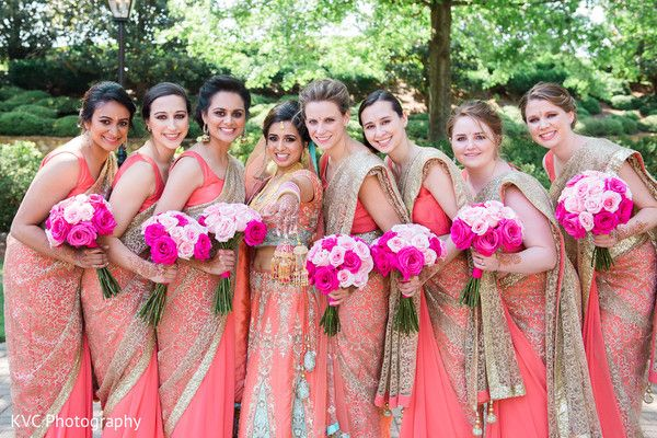 Pin By Bella Vallender On Desi Bridesmaids