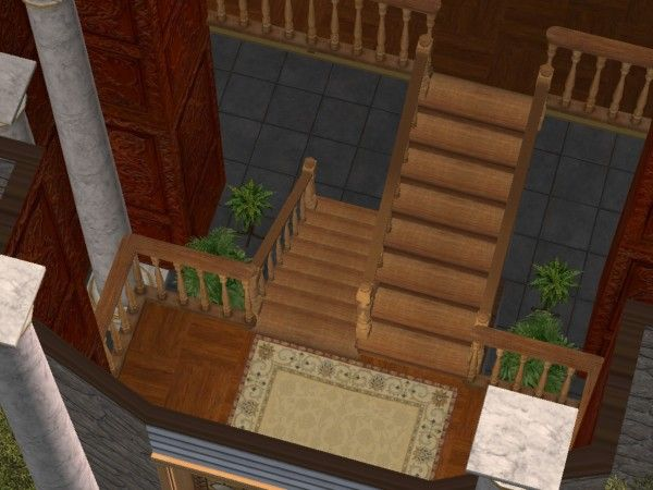 Stairs With Landing Stairs Stair Landing Outdoor Decor
