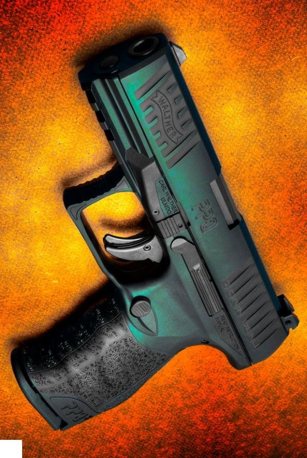 WALTHER ARMS INC - PPQM2 4.2IN 40 S&W HANDGUN SEMI AUTO PISTOL FIREARM BLACK 12+1RD @aegisgears