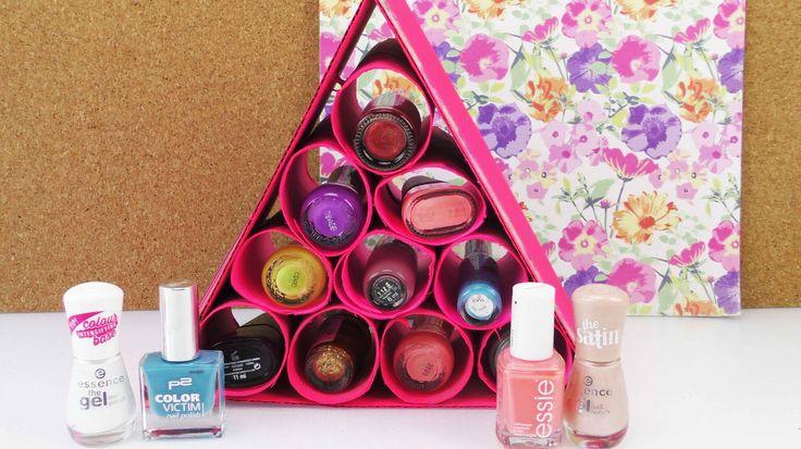 ber ideen zu nagellack aufbewahrung auf pinterest nagellack organisieren nagellack. Black Bedroom Furniture Sets. Home Design Ideas