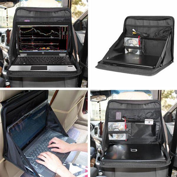 Montaje portátil portable del coche asiento alimentos por trabajo portátil bandeja del sostenedor del organizador de escritorio