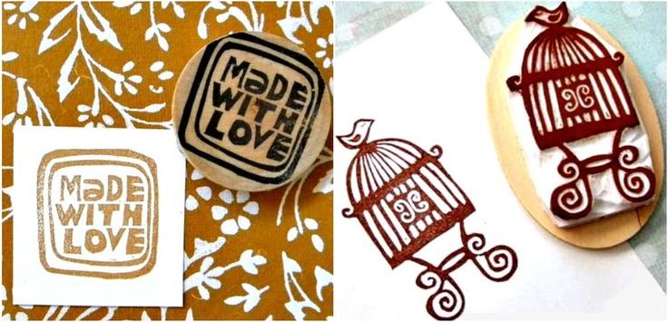 Agenda Mujer: Como hacer tu propio sello casero con goma de borrar
