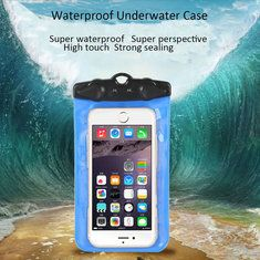 20M Waterproof Underwater Case Cover Bag Armband Dry Pouch For iPhone 5S 5 Samsung HTC Mobile Phone