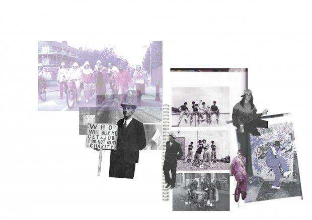 Fashion portfolio moodboard inspiration by Emma Robertson