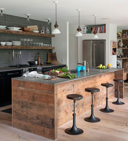 Stepping Up Your Kitchen Island | HomeandEventStyling.com