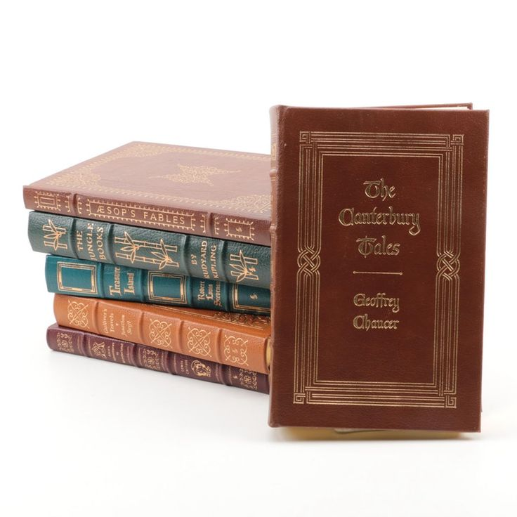 Easton press edition novels from the 100 greatest books