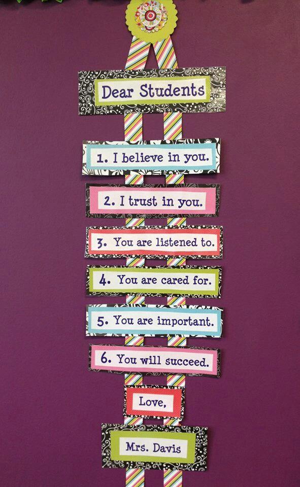 Dear student