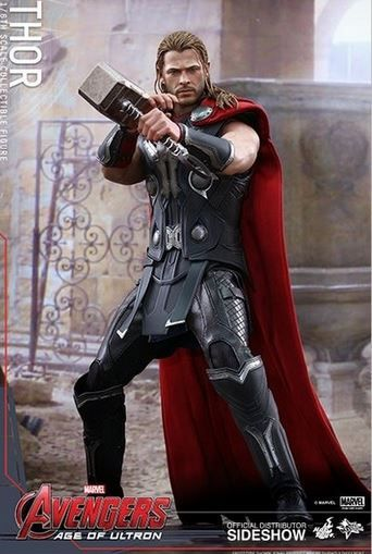 Figurine #Thor - Edition limitée - Collection Movie Masterpiece - #HotToys - #Marvel