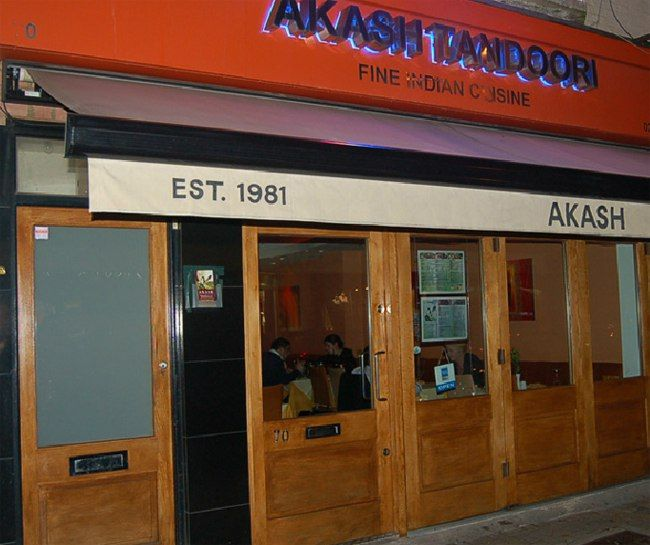 Akash Tandoori, Northcote Road, London