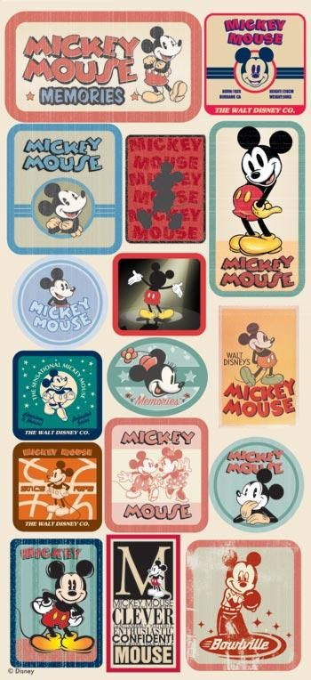 mickey ephemera collection..