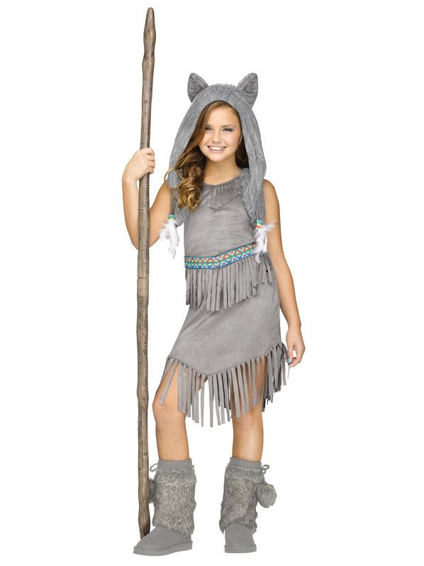 Check out Girls Wolf Dancer Costume - Girls Tween Costumes from Anytime Costumes
