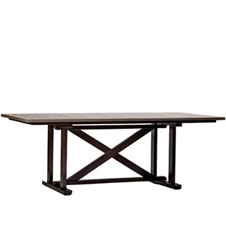 """Faux Wood Dining Table BY PARKER JAMES D 40"""" W 84"""" H 29""""  Faux Wood"""
