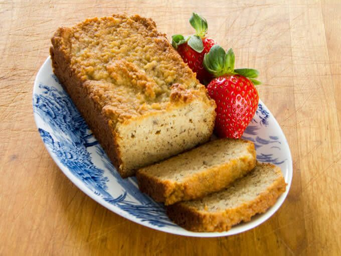 A paleo banana bread recipe that is gluten-free, grain-free, dairy-free, and refined sugar-free. Traditional banana bread flavor made with...
