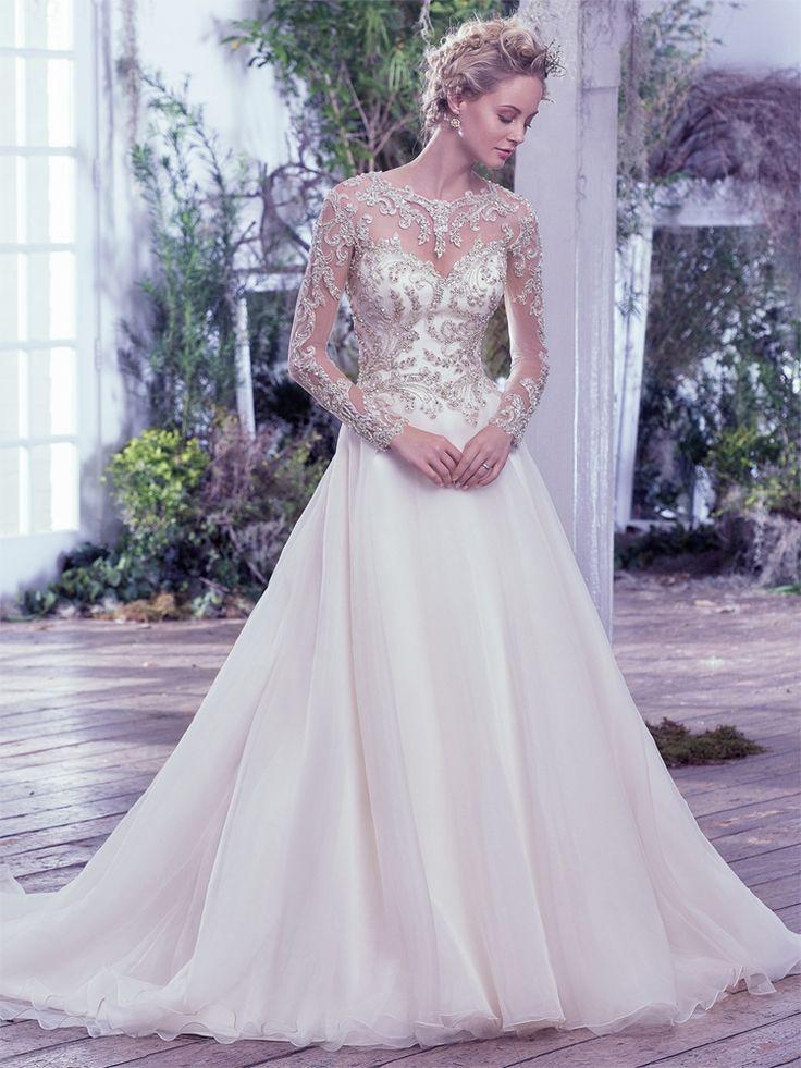 Lorenza #WeddingDress #sparkle #sweetheart #sleeves #princess #ballgown #plymouth #exeter #devon #cornwall