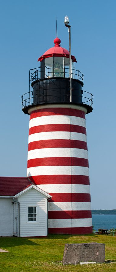 West Quoddy Head Lamp, the eastern-most point, Maine