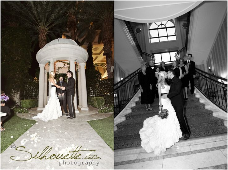 From the moment I walked into the Palms Las Vegas two story Sky Villa  to meet the bride I just knew that this was going to be a glamorous,...