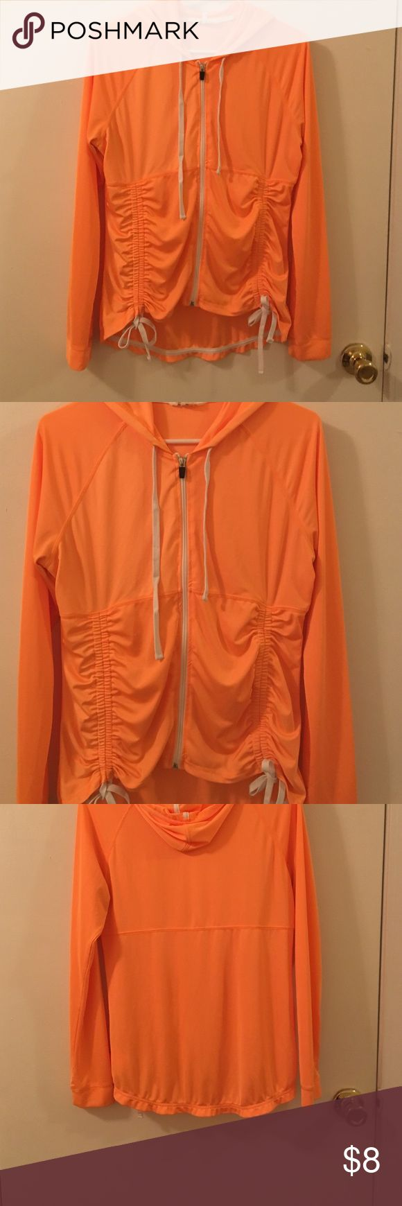 Orange hoodie Very good condition Energie Tops Sweatshirts & Hoodies