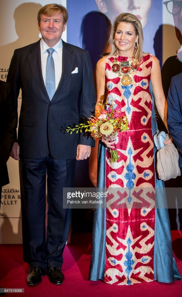 King Willem-Alexander of The Netherlands and Queen Maxima of The Netherlands attend the premiere of the ballet performance 'Ode to the Master' at the National Opera & Ballet on September 15, 2017 in Amsterdam, Netherlands. The National ballet brings a tribute to the permanent choreographer Hans van Manen, on the occasion of his 85th birthday.