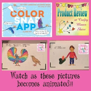 Crafty Moms Share: Color Snap App - a Relaxing Friday Review