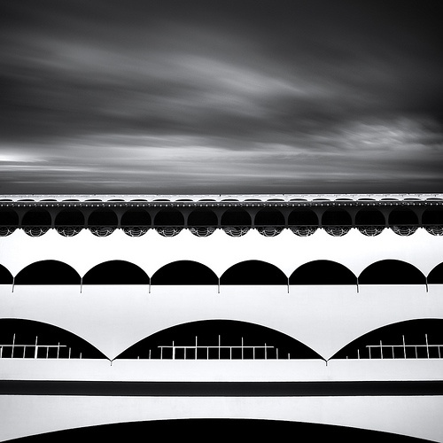 Frank Lloyd Wright. Marin Civic Center. 1957. Marin County, California