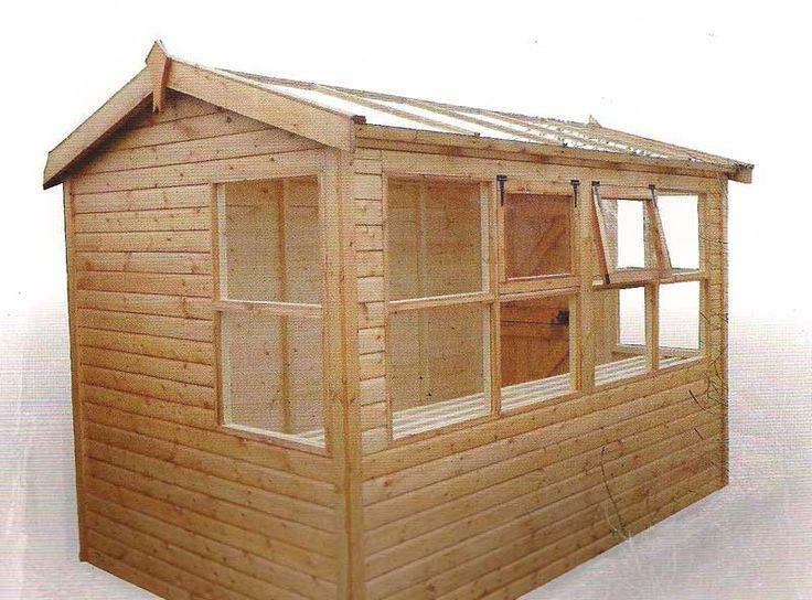 18 best images about sheds on pinterest for Garden potting sheds designs
