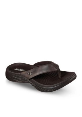 Skechers Women's On The Go 600 Polished Sandals - Chocolate - 11M