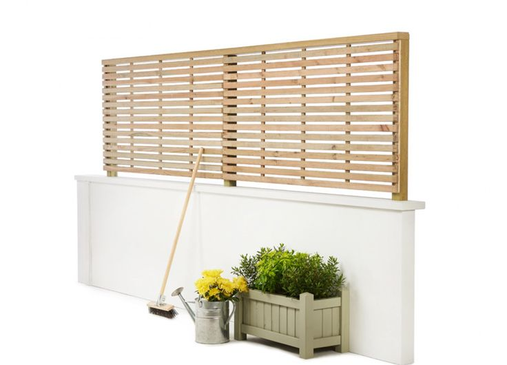 Slatted Fence Panels | Privacy & Security for Gardens | Garden Trellis Company