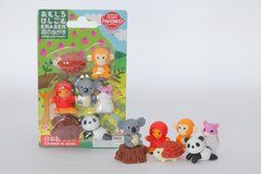 Iwako Forest Animals - Blister Pack