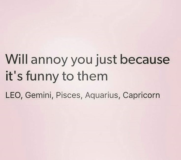 Teehee we do this to each other ♌♒