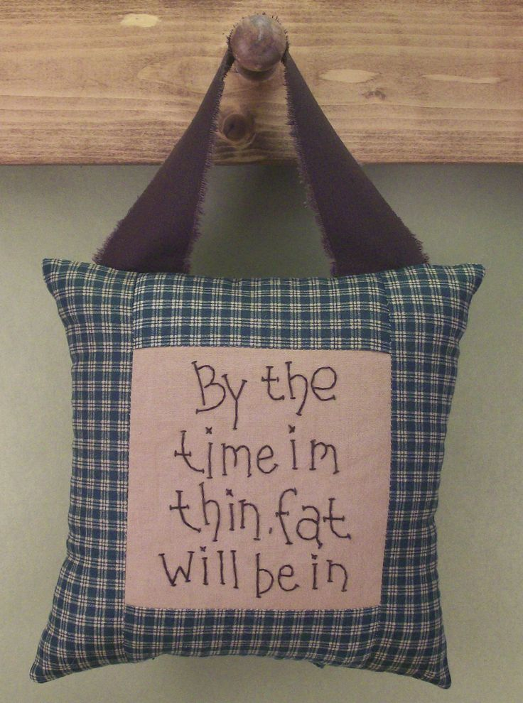 primitive fabric crafts | Pillows, High Quality Handmade Country and Primitive Crafts