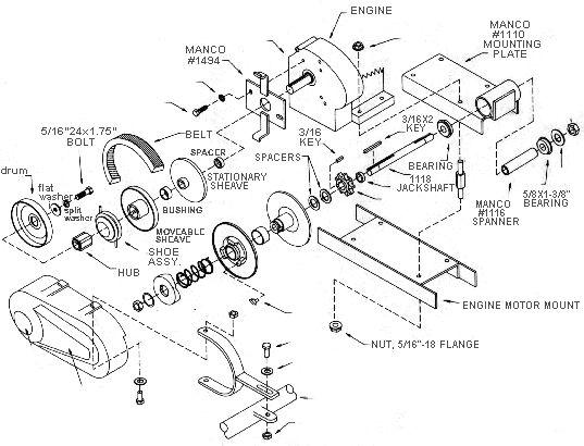 Manco Dingo 285 and 286 Go Kart Parts | 1-800-914-KART
