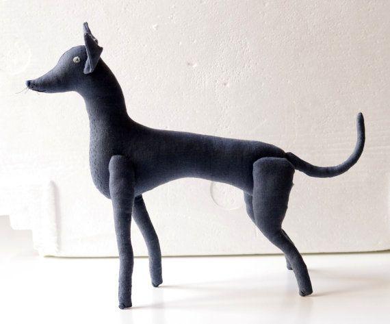 Dog. Soft sculpture. by adatine on Etsy