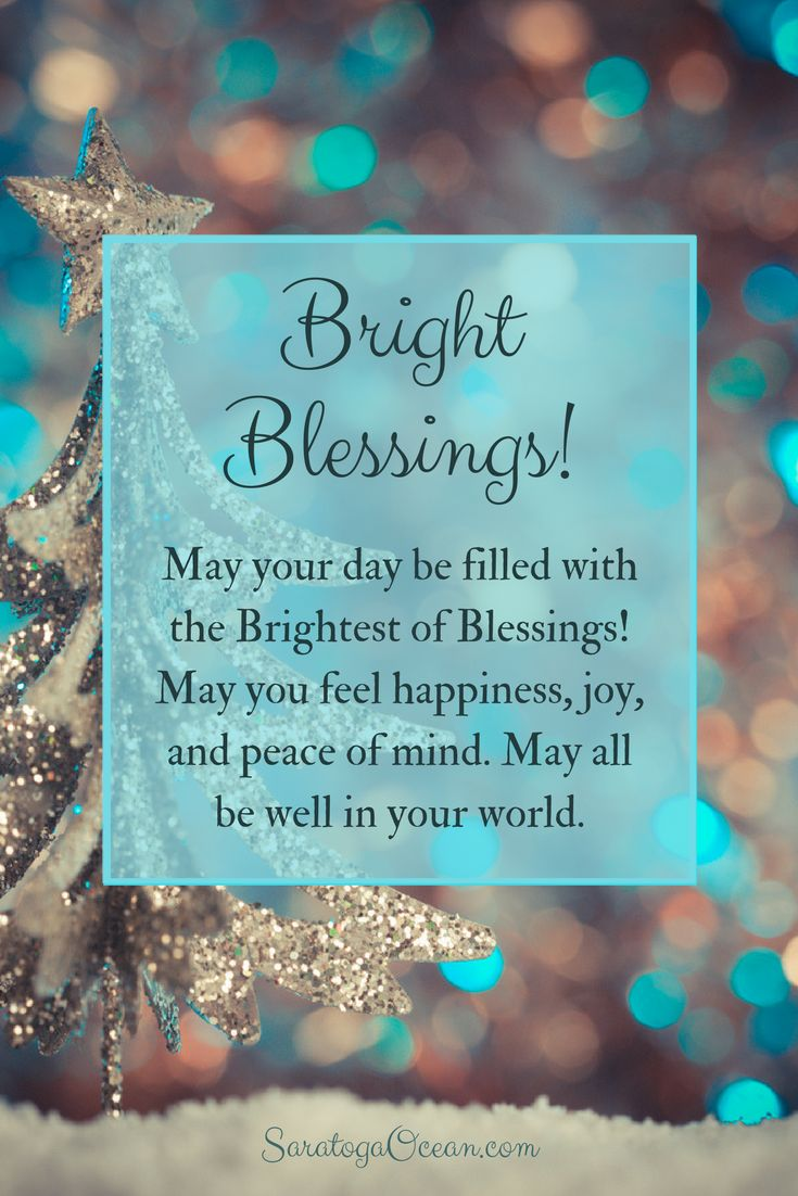 I'm sending you lots of love and bright blessings for a