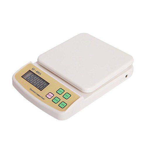 ZYQYJGF Electronic Family Expenses Precise Weighing Platform Scale 10Kg ** Click image to review more details.